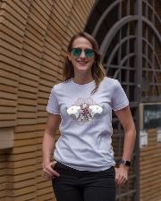 Namaste om Ladies T-Shirt lifestyle-women-crewneck-front-2