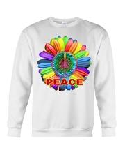 Imagine peace Crewneck Sweatshirt thumbnail
