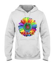 Imagine peace Hooded Sweatshirt thumbnail
