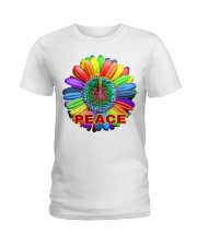 Imagine peace Ladies T-Shirt tile