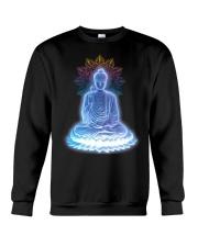 Buddha namaste Crewneck Sweatshirt thumbnail