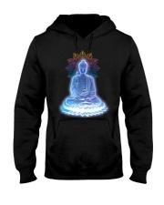 Buddha namaste Hooded Sweatshirt thumbnail