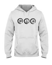 Om buddha Hooded Sweatshirt thumbnail