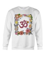 Om flowers Crewneck Sweatshirt thumbnail