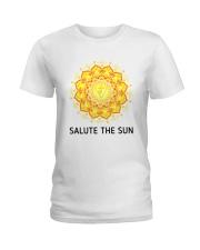 Salute the sun Ladies T-Shirt front