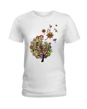 Let It Be Ladies T-Shirt front