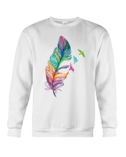 Mandala feather Crewneck Sweatshirt thumbnail