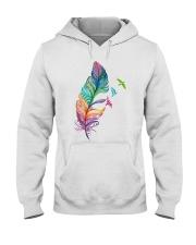Mandala feather Hooded Sweatshirt thumbnail