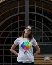 Mandala house Ladies T-Shirt lifestyle-women-crewneck-front-1