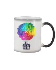 Mandala house Color Changing Mug thumbnail