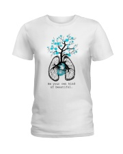 Be your own kind of beautiful Ladies T-Shirt front