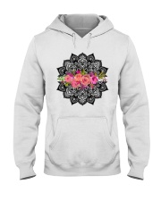 Mandala flowers Hooded Sweatshirt thumbnail