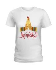 Namaste 03 Ladies T-Shirt tile
