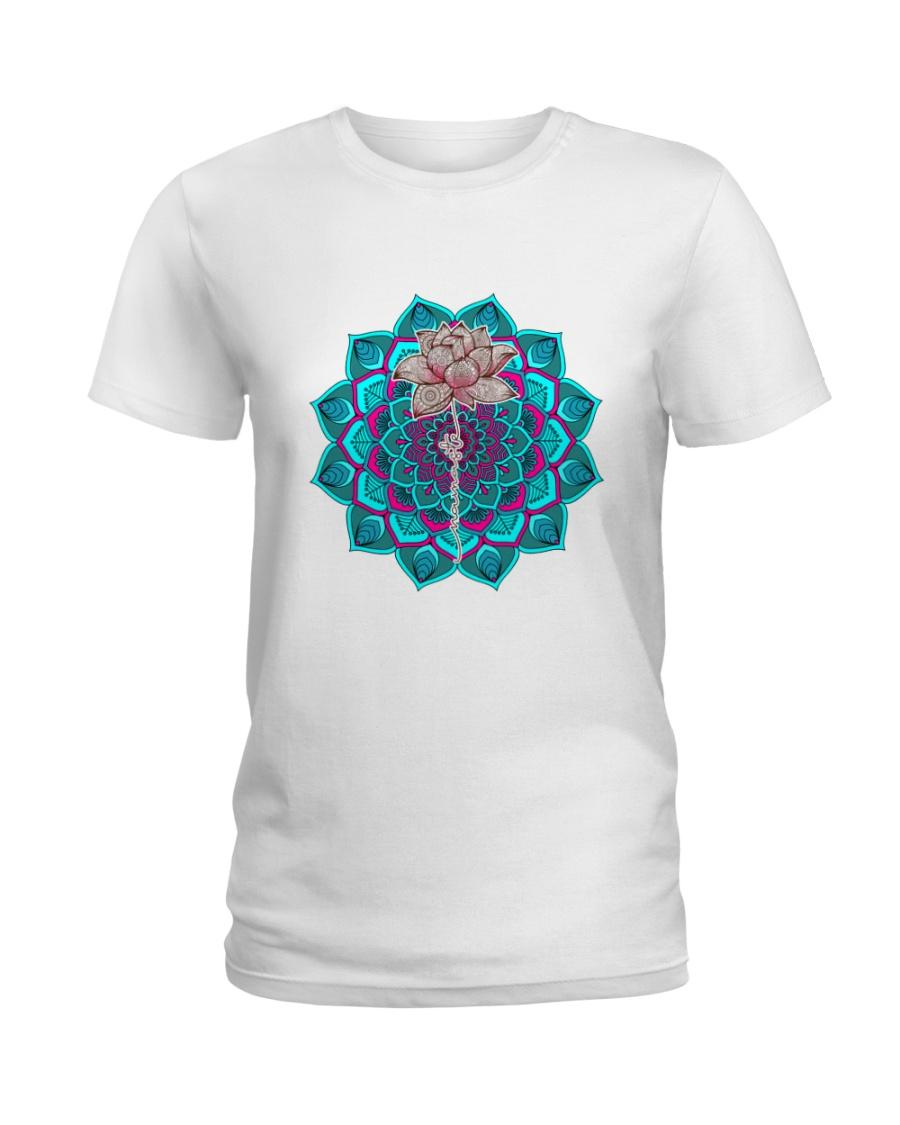Mandala lotus Ladies T-Shirt