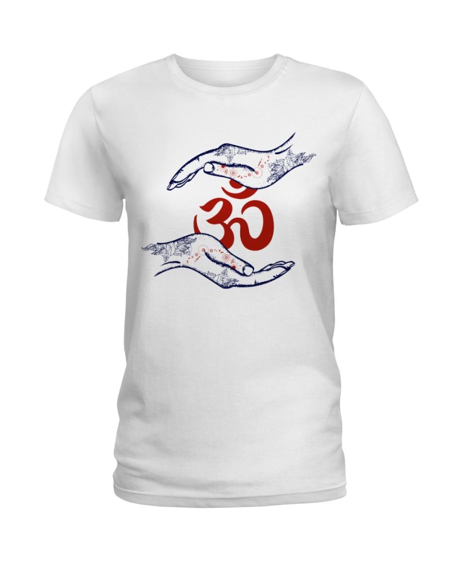 Om Ladies T-Shirt