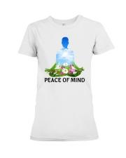 Peace of mind Premium Fit Ladies Tee front