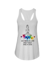 All i need is love Ladies Flowy Tank tile