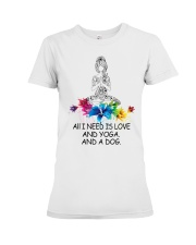 All i need is love Premium Fit Ladies Tee tile