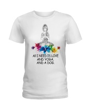 All i need is love Ladies T-Shirt tile