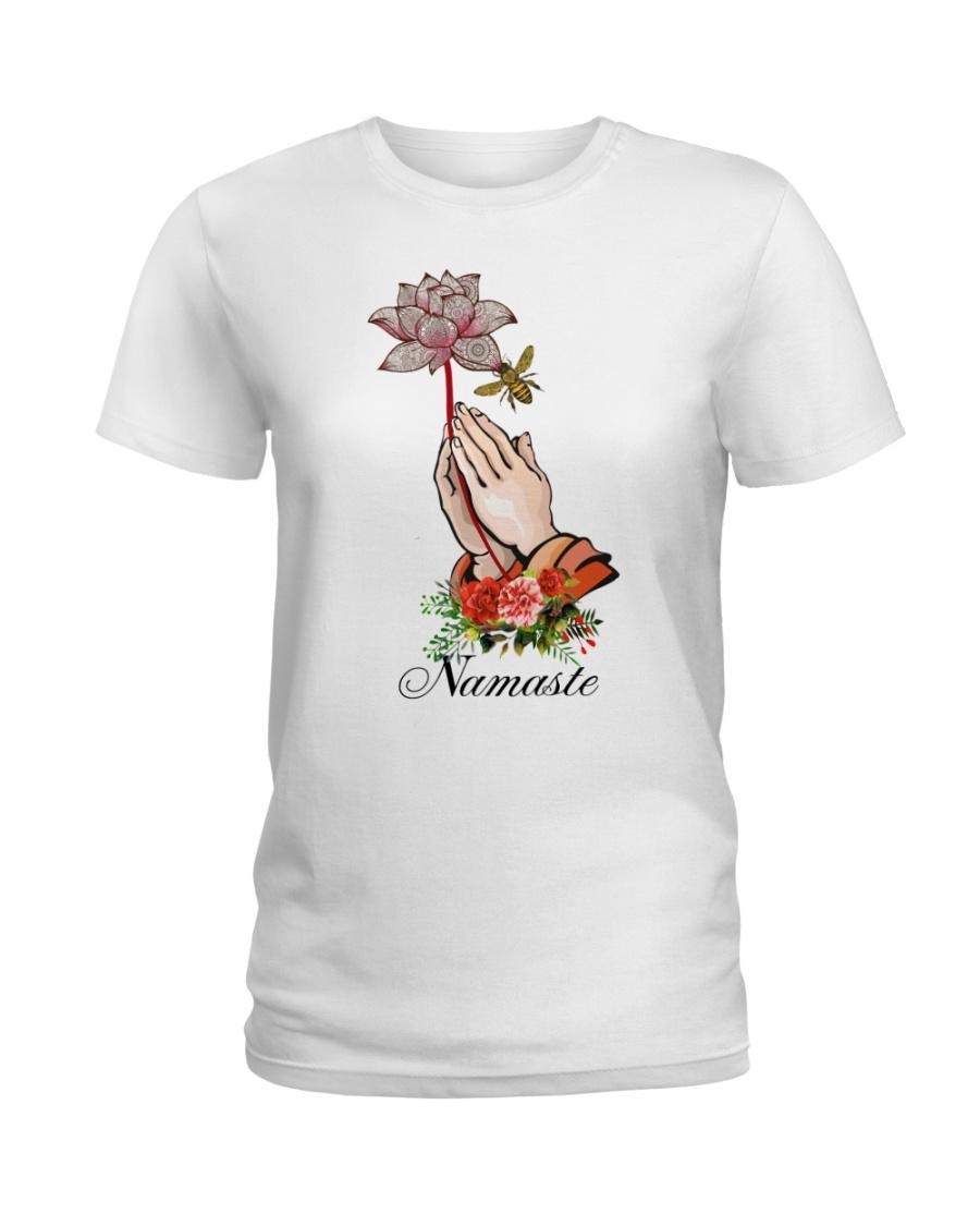 Namaste lotus Ladies T-Shirt