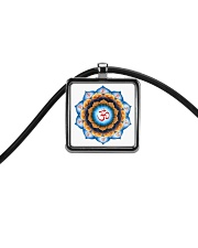 Om Cord Rectangle Necklace tile