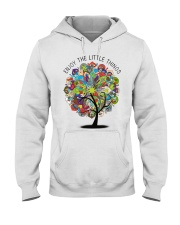 Enjoy the little things Hooded Sweatshirt thumbnail