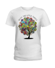 Enjoy the little things Ladies T-Shirt front