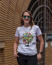 Enjoy the little things Ladies T-Shirt lifestyle-women-crewneck-front-2