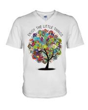 Enjoy the little things V-Neck T-Shirt thumbnail
