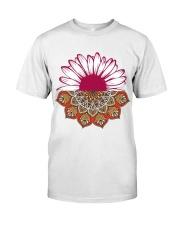 Mandala Flower Premium Fit Mens Tee front