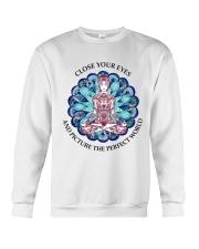 Close your eyes Crewneck Sweatshirt thumbnail