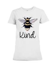 Bee Kind Premium Fit Ladies Tee front