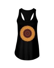 Mandala flower Ladies Flowy Tank thumbnail