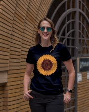 Mandala flower Ladies T-Shirt lifestyle-women-crewneck-front-2