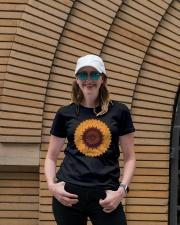 Mandala flower Ladies T-Shirt lifestyle-women-crewneck-front-4