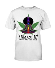 Namastay home and get hight Classic T-Shirt thumbnail