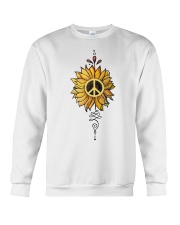 Sunflower peace Crewneck Sweatshirt thumbnail