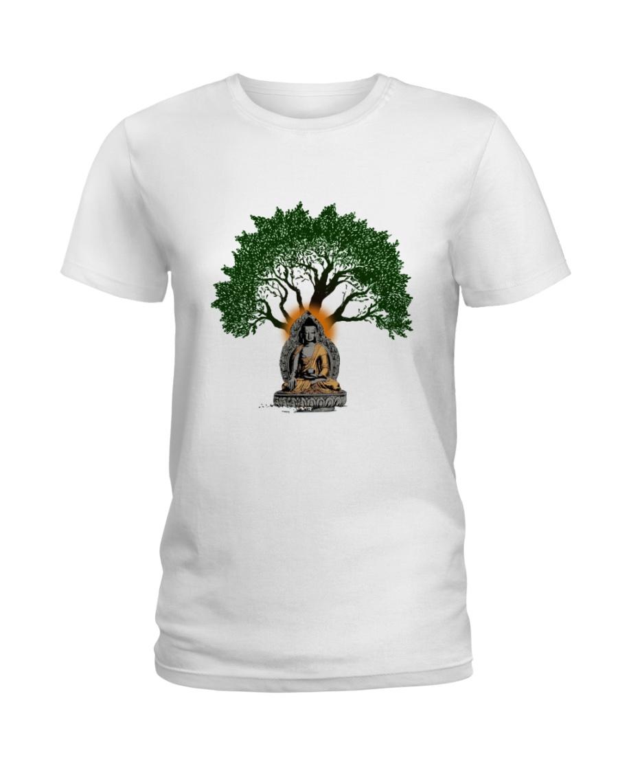 Tree Mandala Ladies T-Shirt