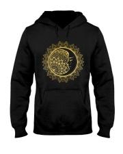Moon mandala Hooded Sweatshirt thumbnail