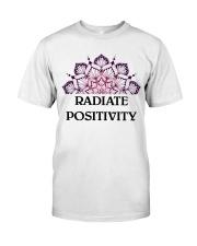 Radiate positivity Classic T-Shirt thumbnail