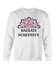 Radiate positivity Crewneck Sweatshirt thumbnail