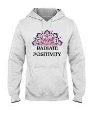 Radiate positivity Hooded Sweatshirt thumbnail