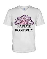 Radiate positivity V-Neck T-Shirt thumbnail