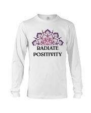 Radiate positivity Long Sleeve Tee thumbnail