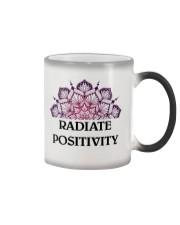 Radiate positivity Color Changing Mug thumbnail