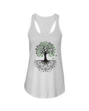 Tree of life Ladies Flowy Tank thumbnail
