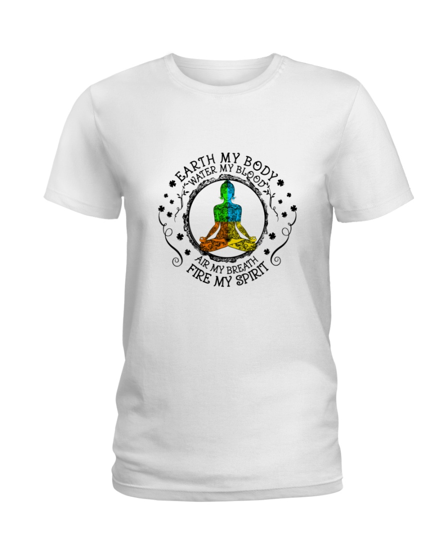 Earth My Body Water My Blood Ladies T-Shirt