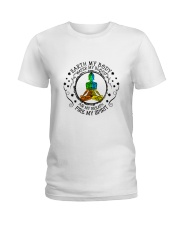 Earth My Body Water My Blood Ladies T-Shirt front