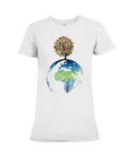 Mandala tree Premium Fit Ladies Tee thumbnail
