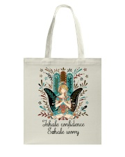 Inhale confidence Tote Bag thumbnail